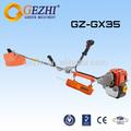 Gasolina motoguadañas cortador de cepillo de cuatro gx35 carrera profesional de la máquina jardín gz-gx35