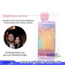 2015 Newest products 3.5MM Jack Selfie LED Flash Light, best selfie external flash for smartphon