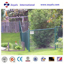 Reliable Supplier ISO 9001:2008 pvc chain link fence/pvc chain link fence