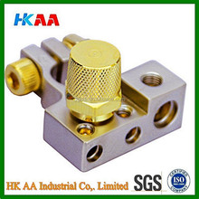 High quality gold plated top mount battery post terminal with chrome finish