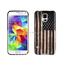Customized Printed TPU Soft Gel Colorful Pattern Phone Case for samsung S5/ s6
