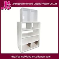 wooden cup display stand, MX8152 energy drink display rack