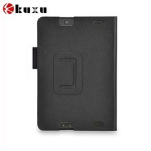 For Fire HD 7 superior quality genuine leather tablet case supplier