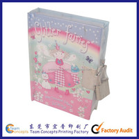children note book lock with cardboard cover