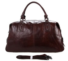 7071LC JMD Hot Sell Fashion Style Man Genuine Leather Travel Bag Tote Bag