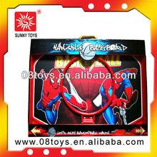 Toy wood mini basketball board set