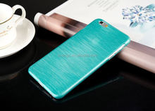 Best selling products Ultra Thin Clear Hard PC Brushed Case Skin Cover for iphone 6 case made in china