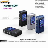 2015 new smart 60w vv/vw mod kamry 60 mini box mod newest e cig mod kamry 60