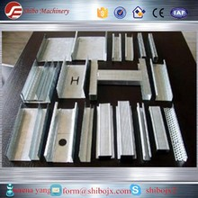 machine for metal ceiling tiles/furring channel keel roll forming machine