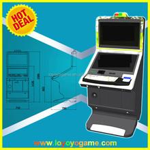 Nuevo metal de la llegada tragaperras de vídeo gabinete bingo máquina de juego
