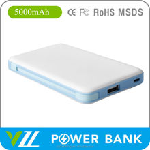 Good Quality 5000 mah Battery Charger, Wholesale Portable Power Bank