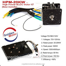 20KW BLDC motor kit for electric car