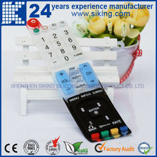 customized rubber keypad with carbon pill
