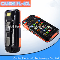 CARIBE PL-40L AG191 Android Handheld RFID Reader with WiFi,Bluetooth,handheld pda enclosure for supermarket