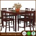 Moderno restaurante 8 plazas mesa de comedor y sillas de china por TRDT-135