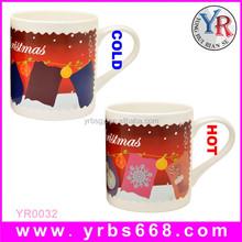 Christmas Xmas New Idea Gift Present Sublimation Magic Color Change Mug