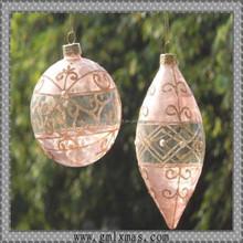 festival promotional items decorative hollow clear platic balls ornaments bulk
