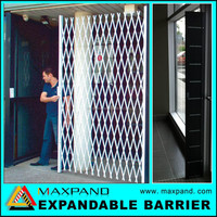 High Security Modern Steel Construction indoor iron gates