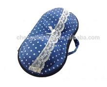 2014 ladies fashion bra storage case travel portable EVA underwear bra bag