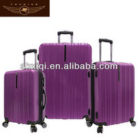 abs travel luggages steel suitcase travel one