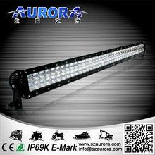 Highest Lumen 40inch 400W AURORA marine light off road bull bars