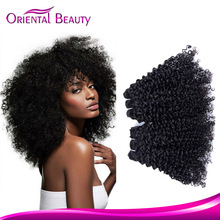 Wholesale peruvian virgin afro curl hair new fashion hair bundles factory price kinky hair weaving