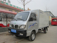 4 wheel 2seats electric van truck with EEC certificate