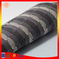 wholesale cheap pvc table mat woven placemats plastic Embroidery pattern table cloth