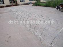 low price concertina razor barbed wire/ Galvanized Razor Barbed Wire