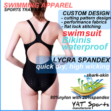 Custom design printing bikini swimwear Women one piece swimsuit