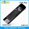 Wholesale 2.4g wireless Mele f10 pro chargeable wireless air mouse keyboard for lg smart tv