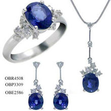 joyería nupcial joyas de piedras preciosas