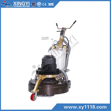 surface grinder concrete floor wax use
