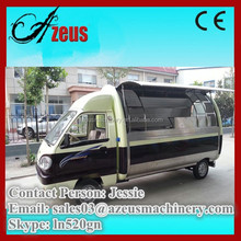 mobile hot dog food vending van/mobile food van for sale