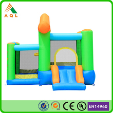 2015 High Quality New Design Green commercial bounce house inflatable