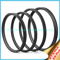 """2015 YISHUNBIKE 42mm wide mountain bicycle light weight hookless 27.5"""" mtb carbon rims am dh"""