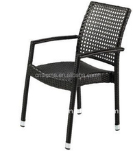 2014 Modern design leisure used furniture arm wicker single chair