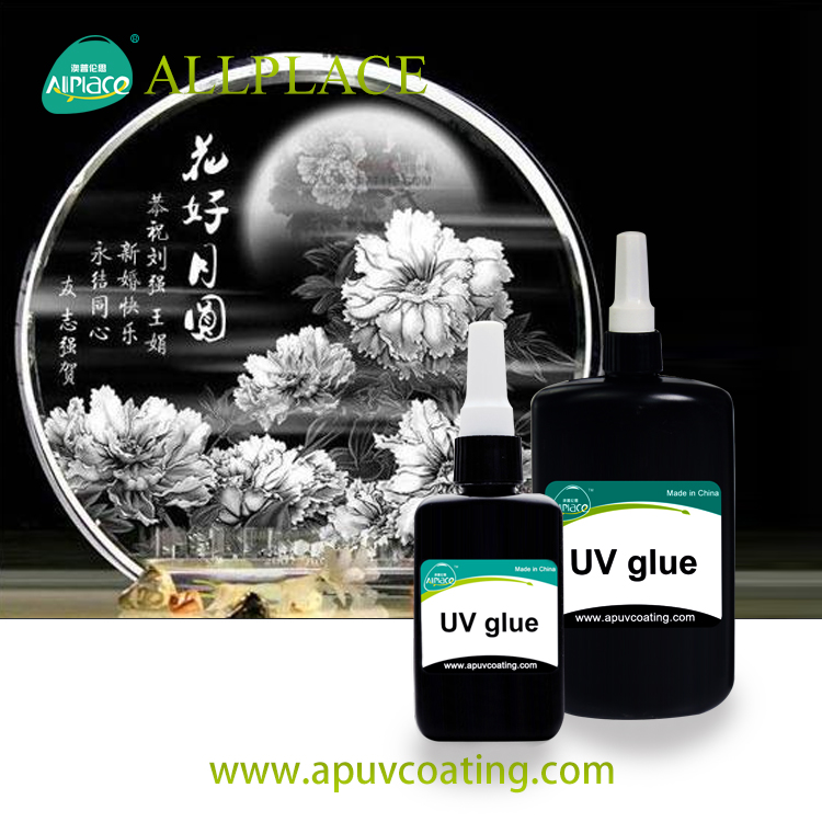 Allplace uv glue for crystal crafts