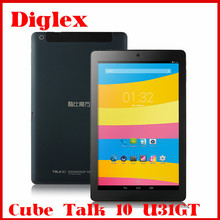 10.1 inch Cube Talk 10 U31GT Tablet PC Quad Core MTK8382 Android 4.2 Tablet 1GB RAM 16GB ROM 2MP 5MP Camera WIFI 3G Tablet PC