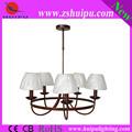 la decoración del hogar tela cortinas de la lámpara de araña de luces