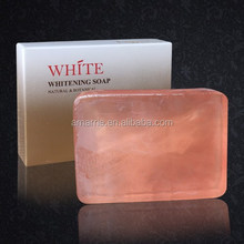 Hot Sale Handmade Natural Skin Care Lightening Effective Renew Skin Whitening and Anti aging Soap for Shower Bath