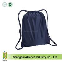 Promotion wholesale waterproof nylon drawstring laundry bag