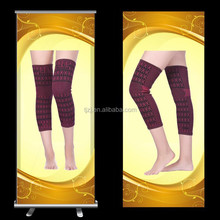 Hot sale stylish magnetic far infrared long knee support knee brace support