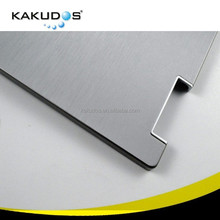 Factory Made Brushed Aluminum Textured Metallic Laptop Skin for HP 8440P Sticker Decal Cover