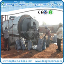 hot sale tyre recycling machine with capacity 6tons per day CE and ISO