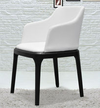 Italian faux leather wholesaler dinner chair fabricated located at China