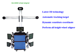 Hot Sale! 3d Wheel Alignment Machine/Four Wheel Aligner for Sale