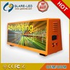 China Manufacture hot 192*64 Pixels LED taxi top advertising and led moving sign