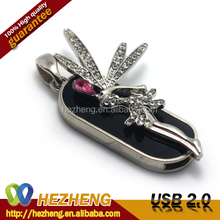 Jewelry Nacklace Angel 64GB USB Flash Pen Drive