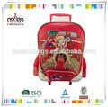 De moda diseño de dibujos animados para niños trolley escuela de bolsa, los niños de la escuela bolsa
